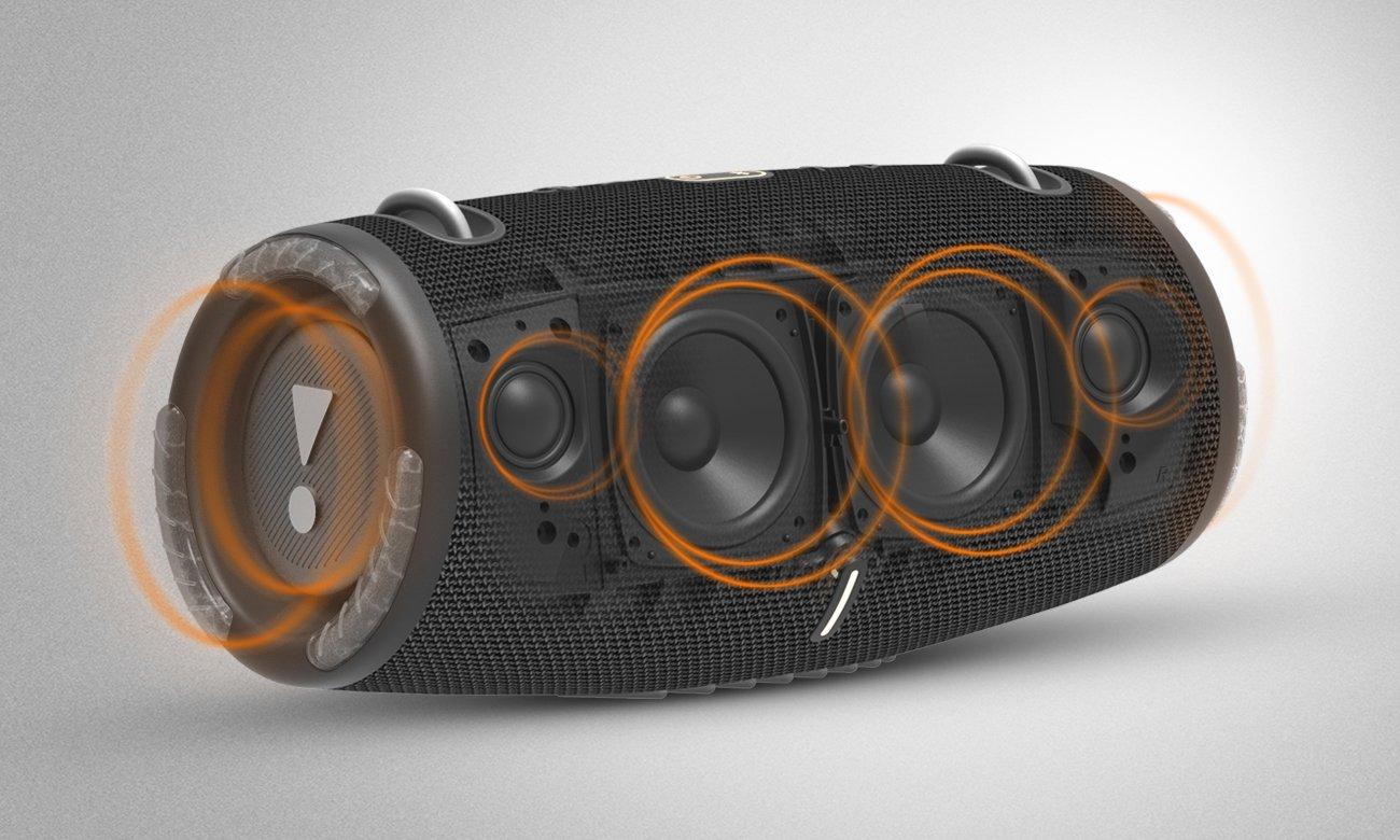 Mocny głośnik bezprzewodowy JBL Xtreme 3 czarny