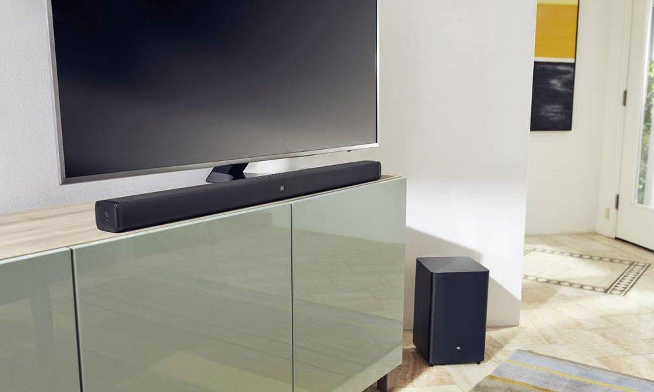 Soundbar 2.1 o mocy 300 W JBL BAR