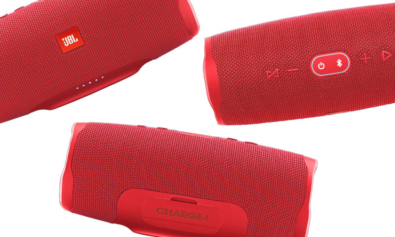 Przenośny głośnik JBL CHARGE 4 red