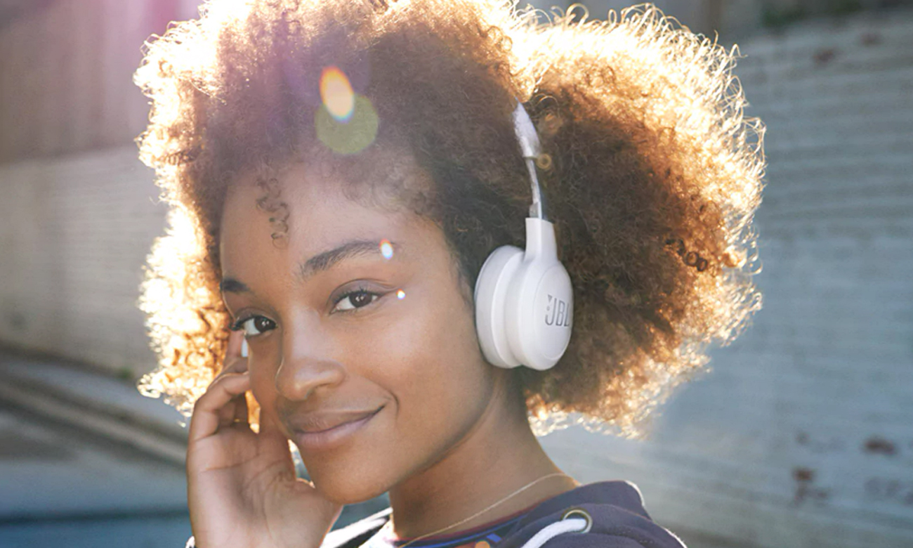 Słuchawki bezprzewodowe JBL LIVE LIVE400BTWHT białe