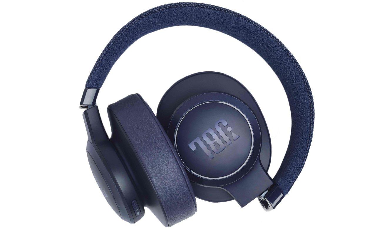 Słuchawki bezprzewodowe JBL LIVE500BTBLU niebieskie