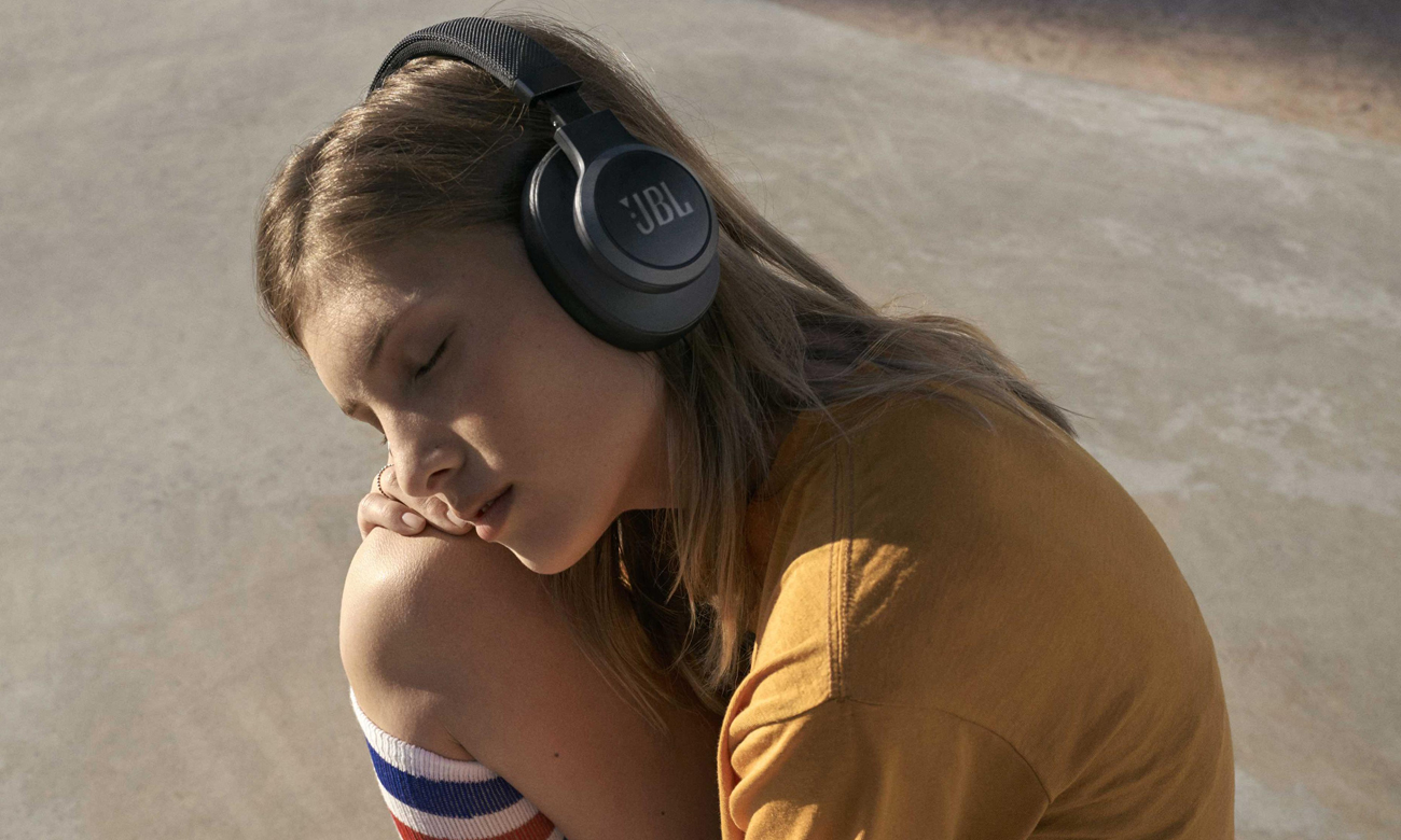 Słuchawki bezprzewodowe JBL LIVE650BTNCWHT