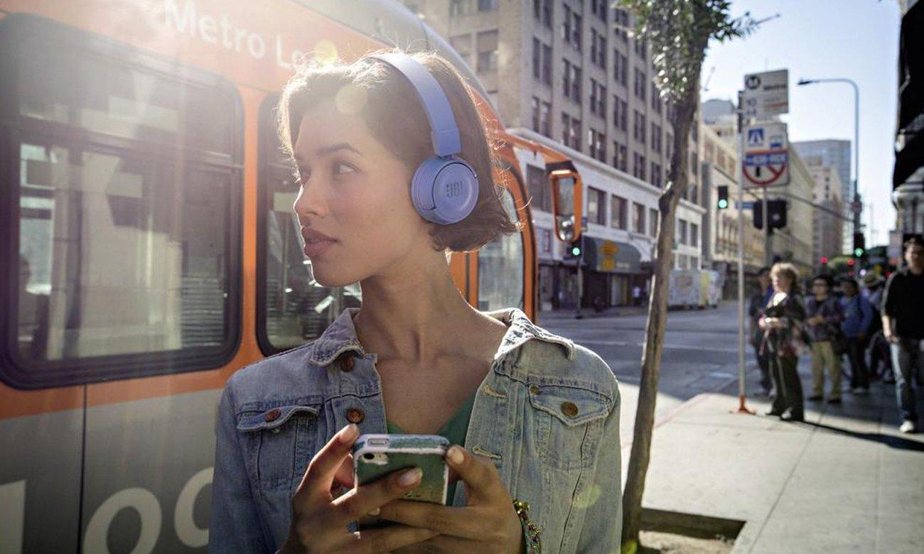 Słuchawki bezprzewodowe JBL T450BTBLK bluetooth