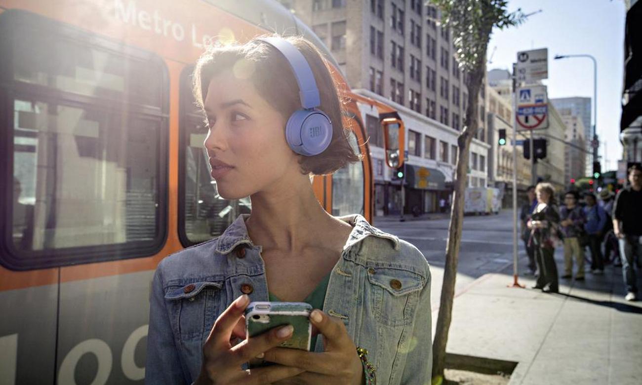 Słuchawki bezprzewodowe JBL T450BTBLU bluetooth