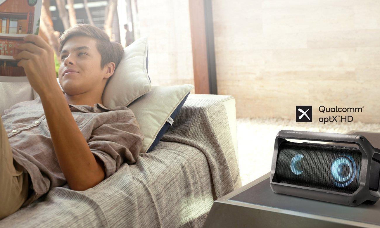 Głośnik bezprzewodowy z aptX HD LG PK5