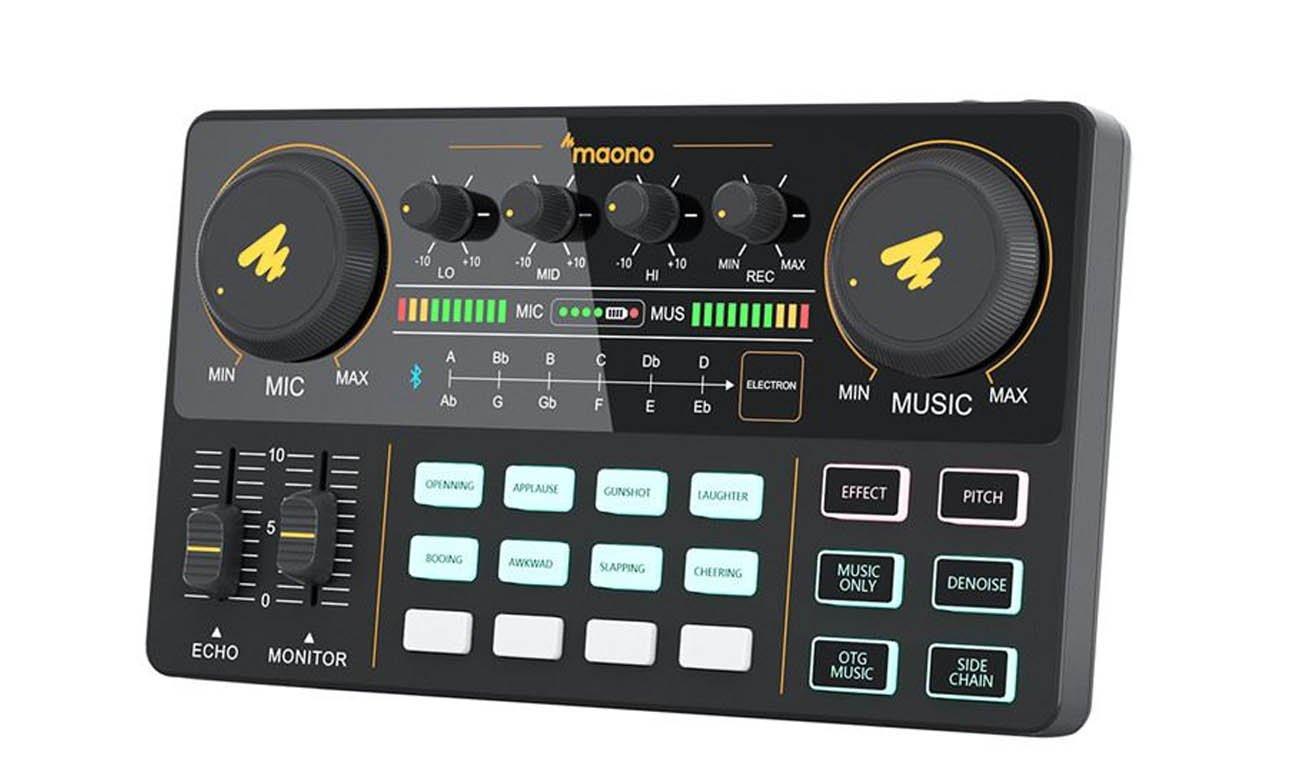 Przenośny interfejs audio Maono AU-AM200 All-In-One