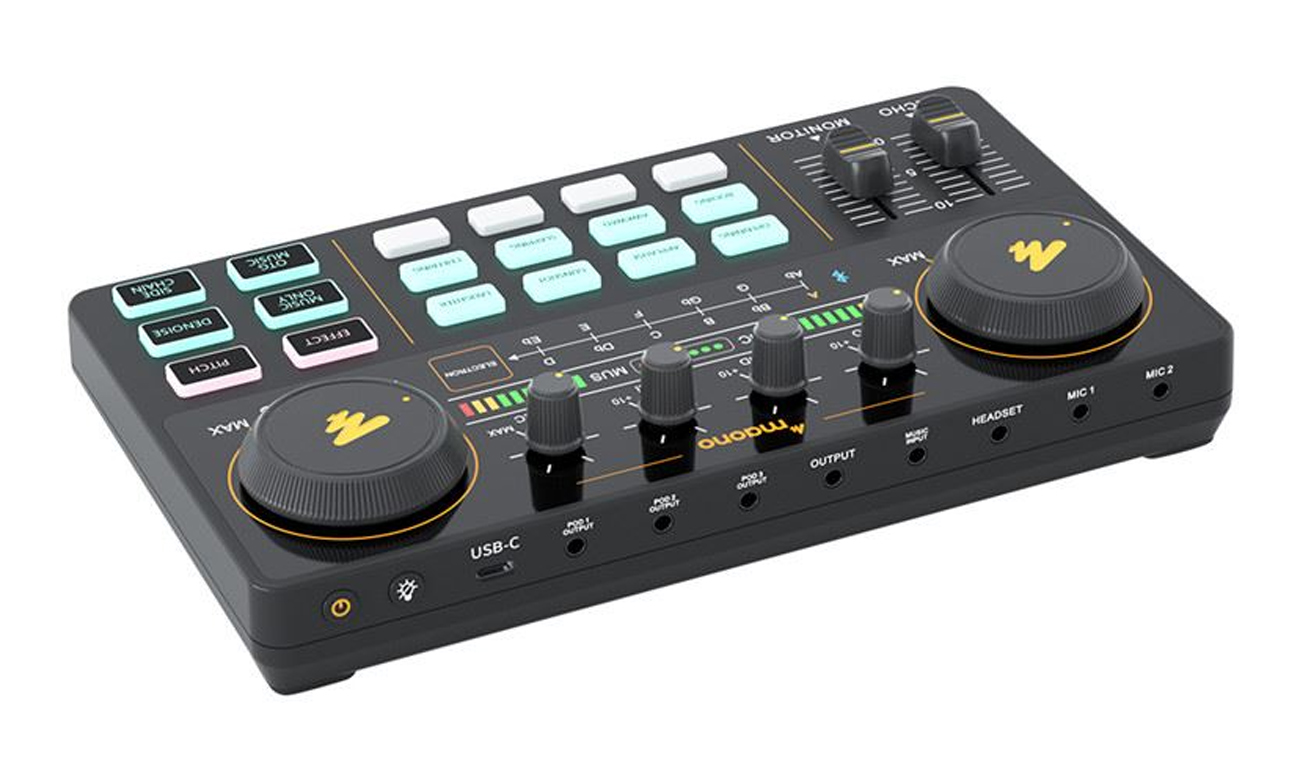 Redukcja szumów interfejs audio Maono AU-AM200 opinie