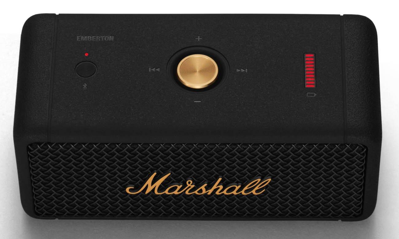 Głośnik z wydajnym akumulatorem Marshall Emberton