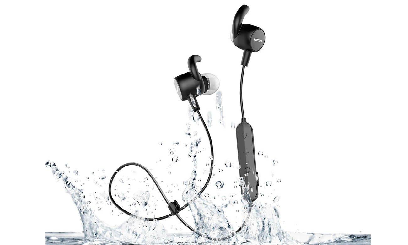 Wygodne słuchawki sportowe Philips TASN503BK