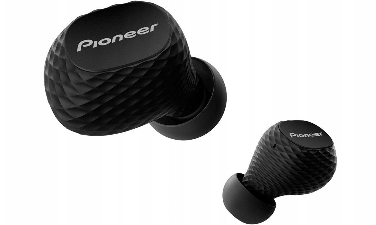 Dokanałowe słuchawki bezprzewodowe Pioneer SE-C8TW czarne