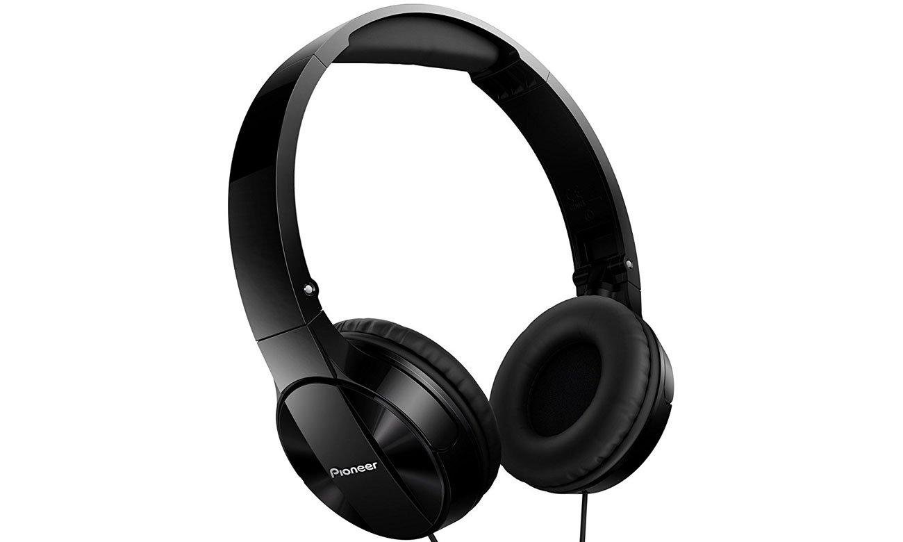 Słuchawki nauszne Pioneer SE-MJ503-K czarne
