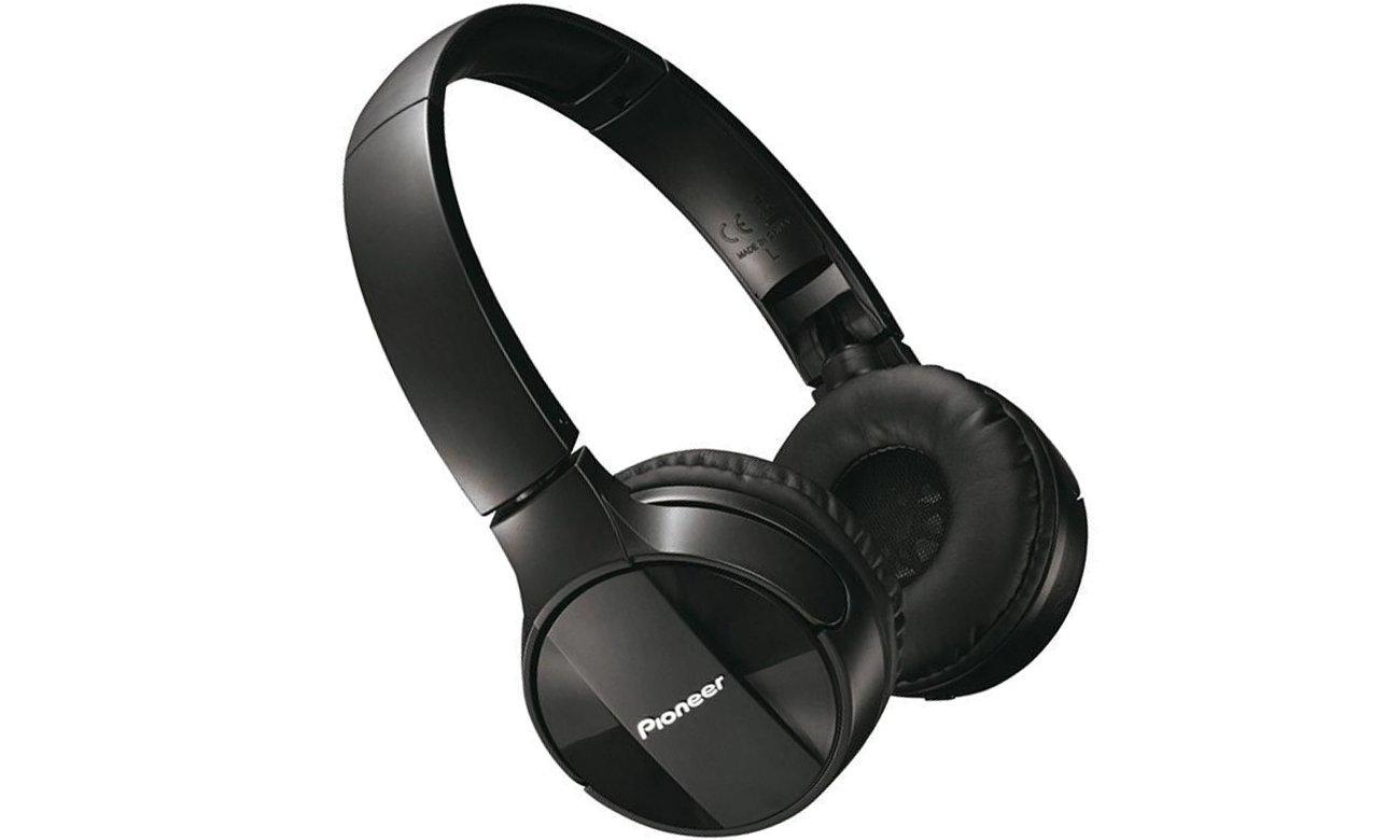Brzmienie słuchawek bezprzewodowych Pioneer SE-MJ553BT-B