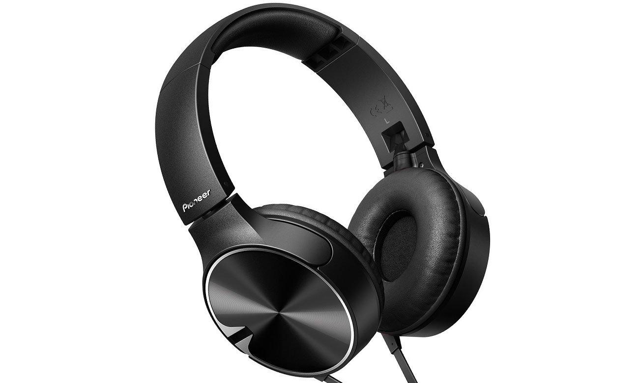 Słuchawki nauszne Pioneer SE-MJ722T-K czarne