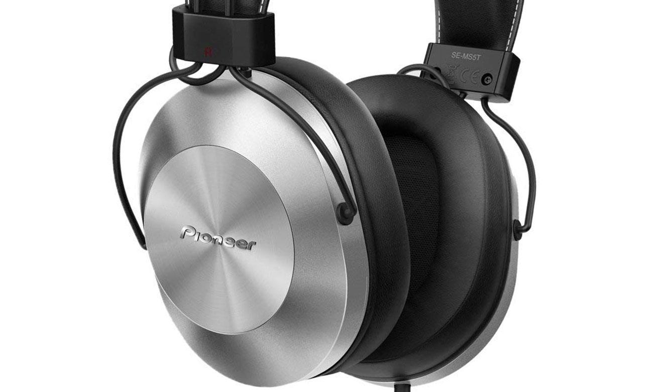 Brzmienie słuchawek przewodowych Pioneer SE-MS5T-S