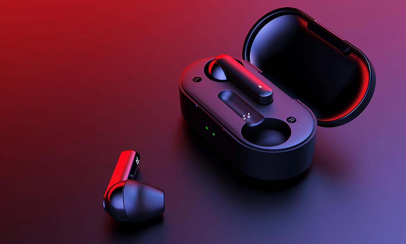 Słuchawki bezprzewodowe z etui ładującym QCY T3 TWS