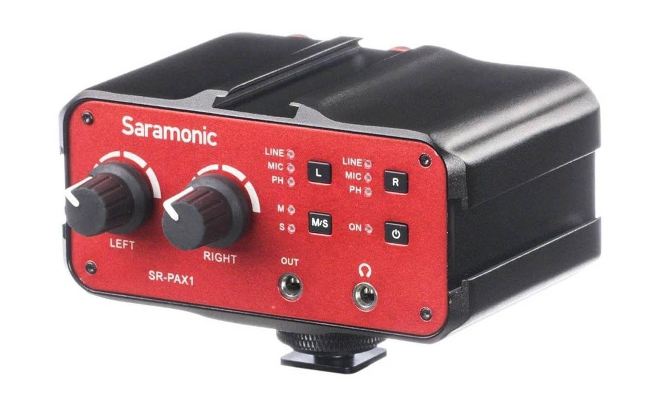 Dwukanałowy adapter audio Saramonic SR-PAX1
