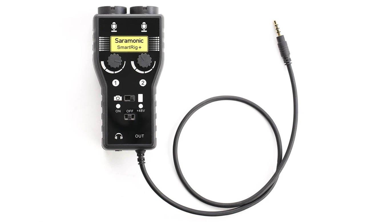Dwukanałowy adapter audio Saramonic SmartRig+