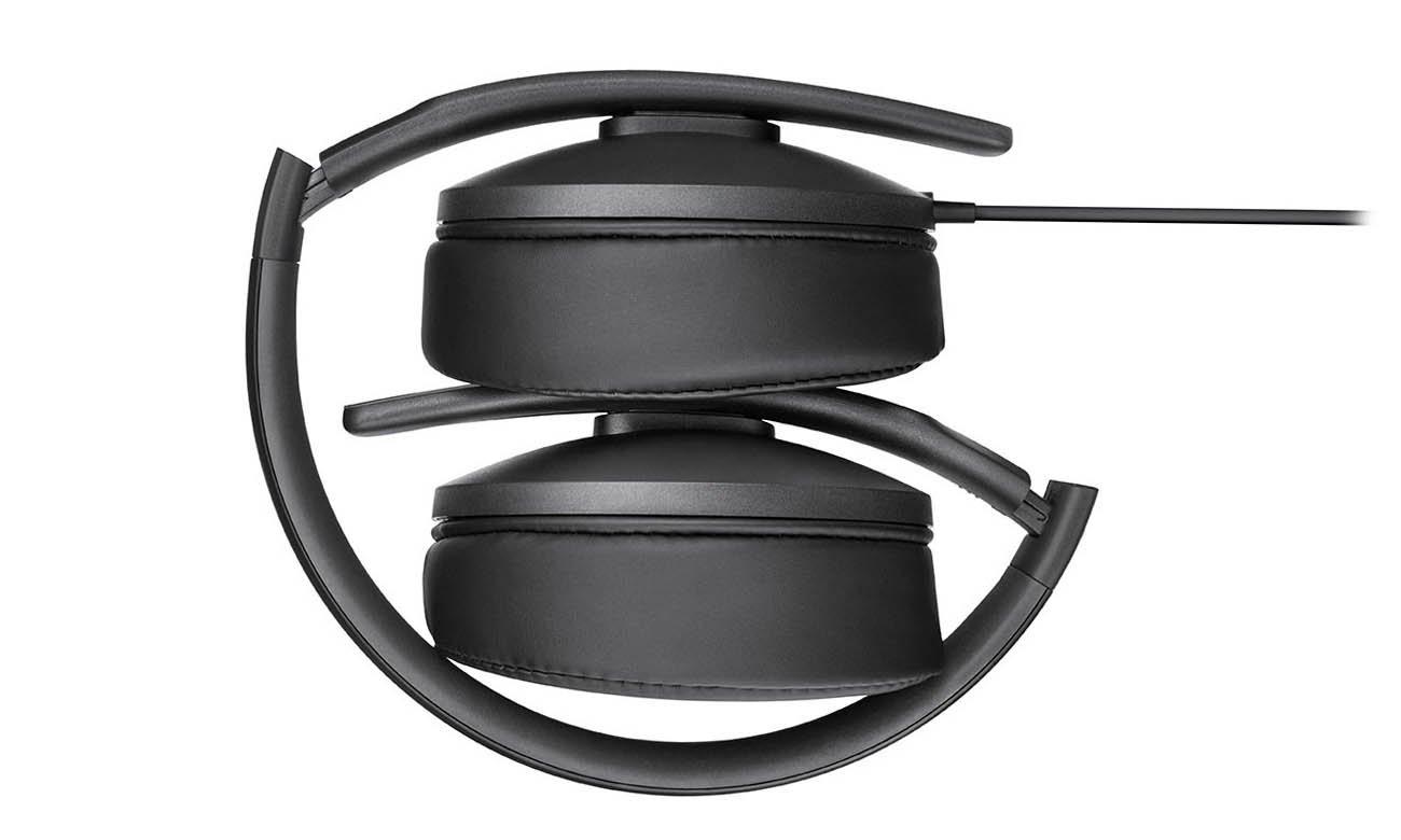 Składana konstrukcja słuchawek Sennheiser HD 300