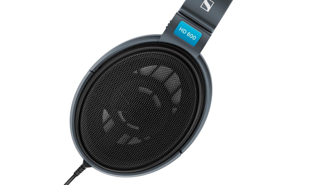 Otwarte słuchawki Sennheiser HD 600 do domowego sprzętu audio