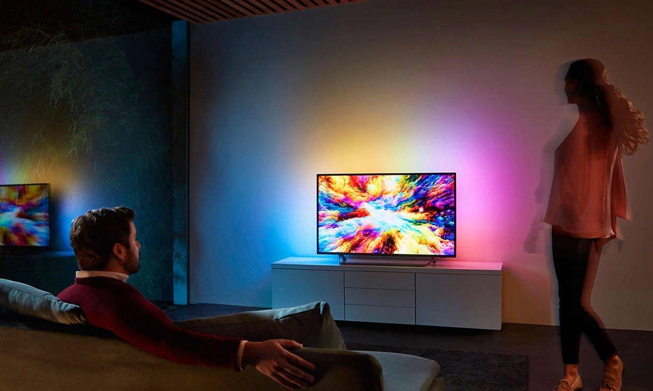 Telewizor z Chromecast i sterowaniem głosowym Philips 43PUS7303