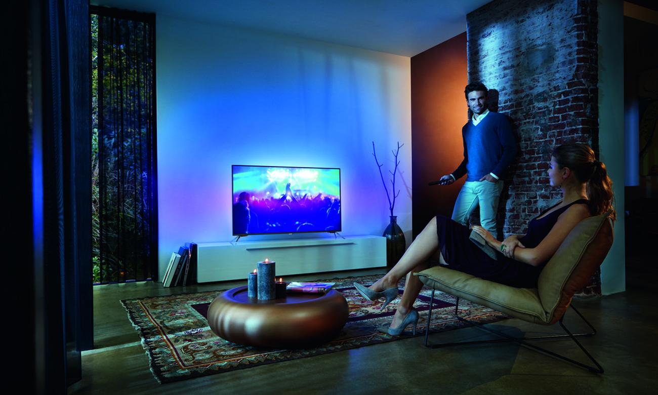 Czysty dźwięk w telewizorze Philips 55PUS6401