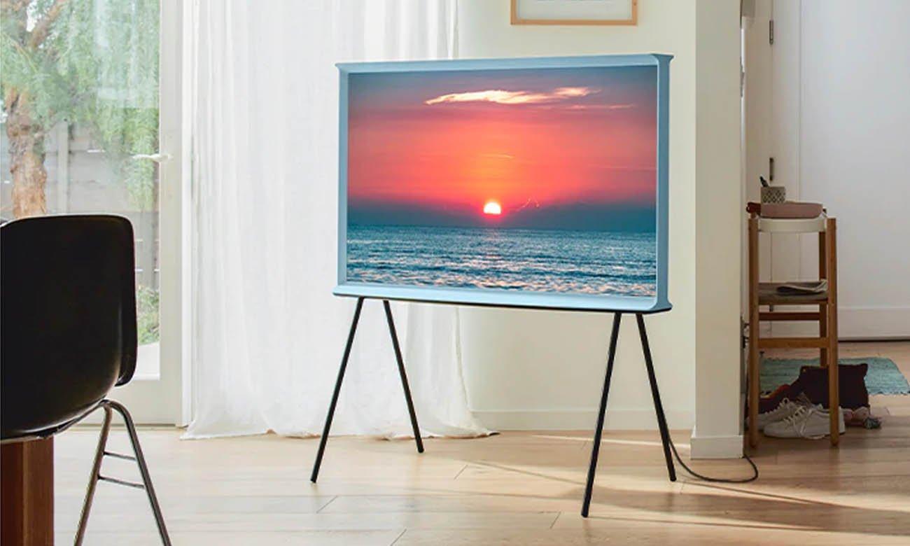 Jaki telewizor 49 cali Samsung QLED QE49LS01TB Niebieski
