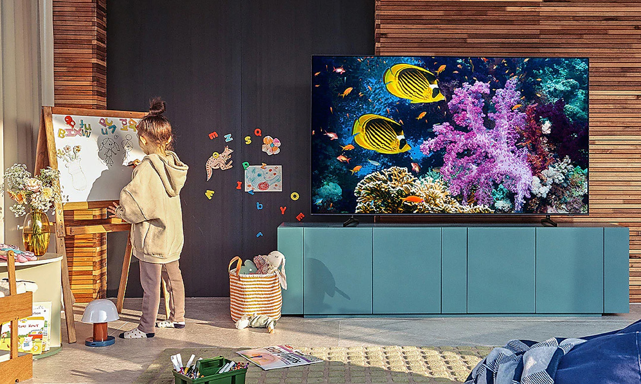 Tryb Ambient Samsung QE85Q60AA opinie
