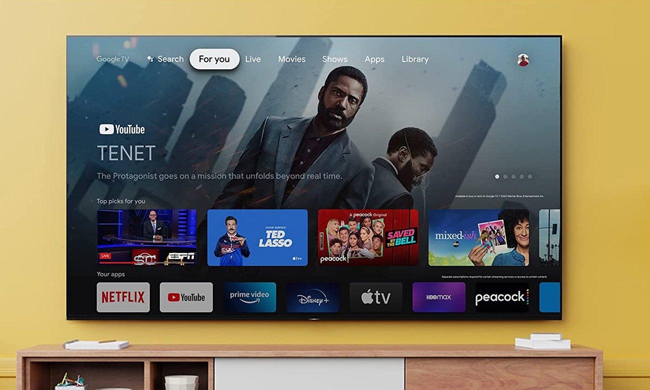 Telewizor Sony KD-43X85J z Google TV