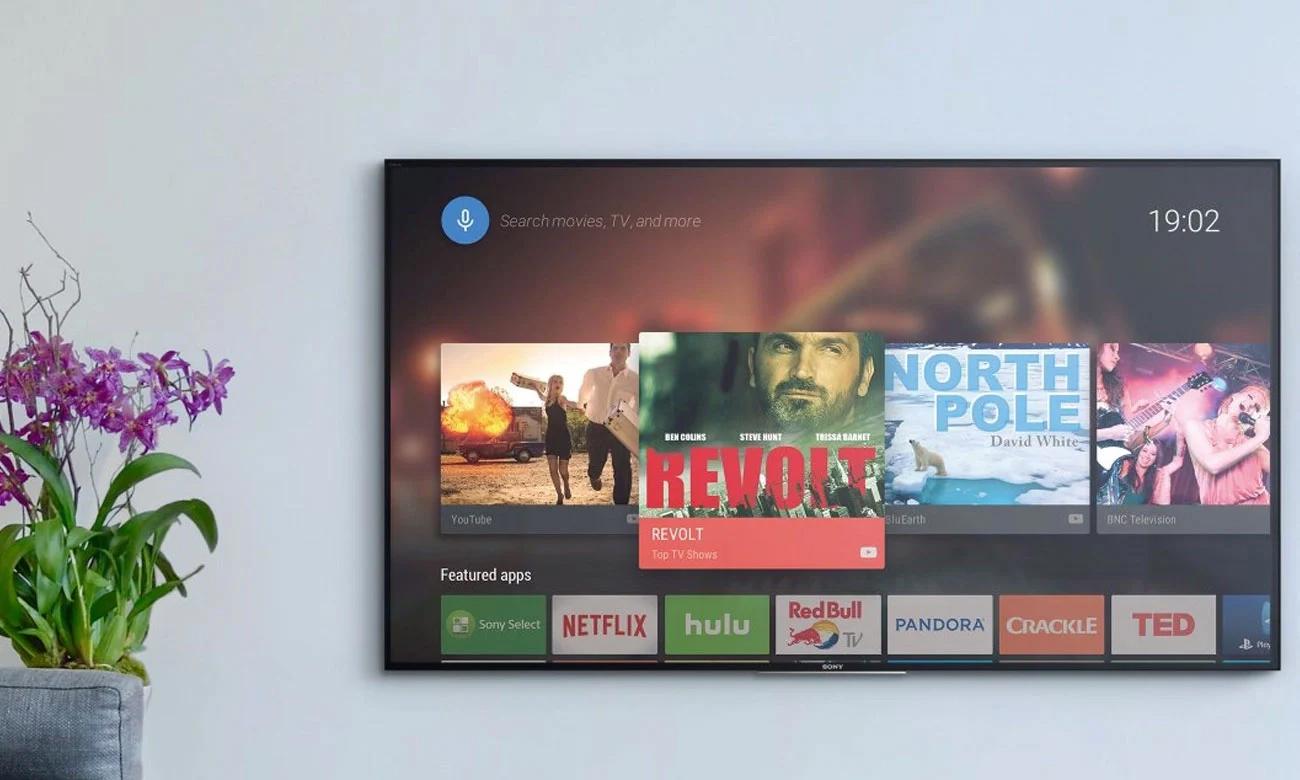 Netflix i Chromecast w telewizorze Sony KD-43XH8505