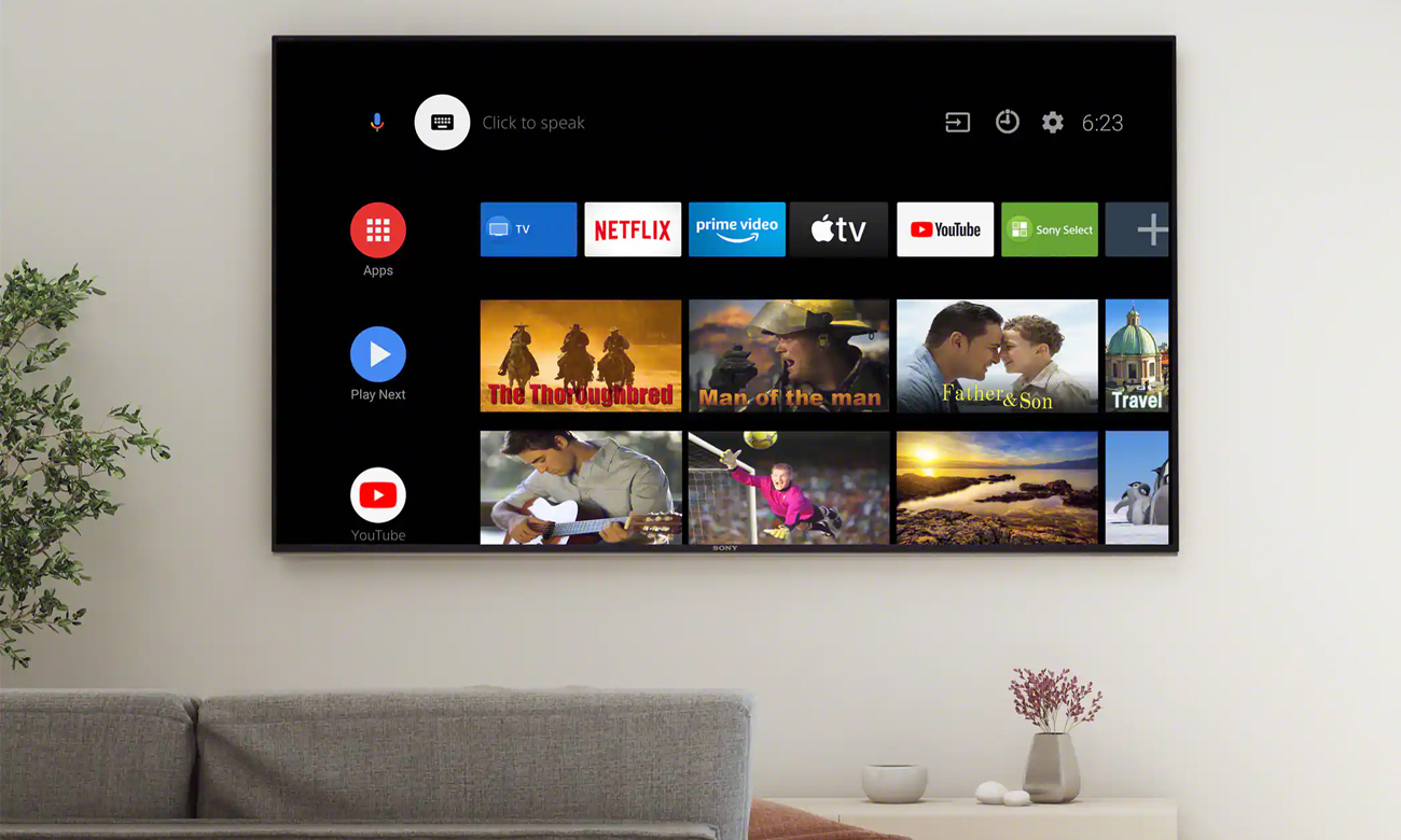 Telewizor Sony OLED KD-48A9 z Android TV