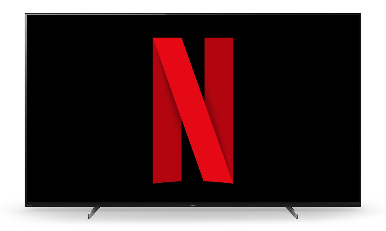 Netflix i Chromecast w telewizorze Sony OLED KD-55A89