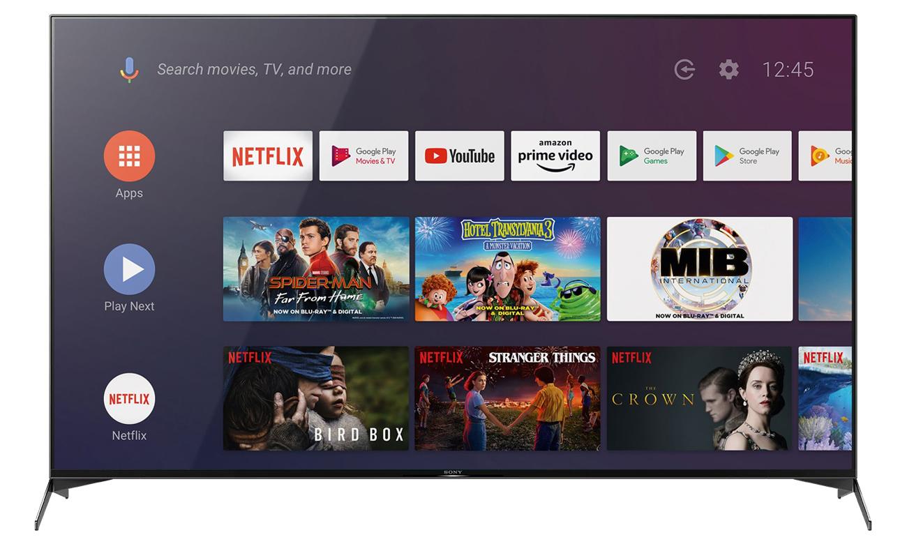 Telewizor Sony KD-55XH9505 z Android TV