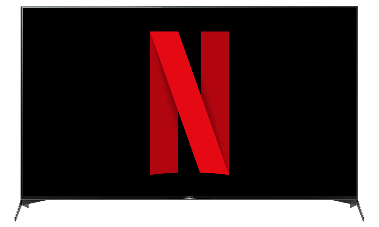 Netflix i Chromecast w telewizorze Sony KD-55XH9505