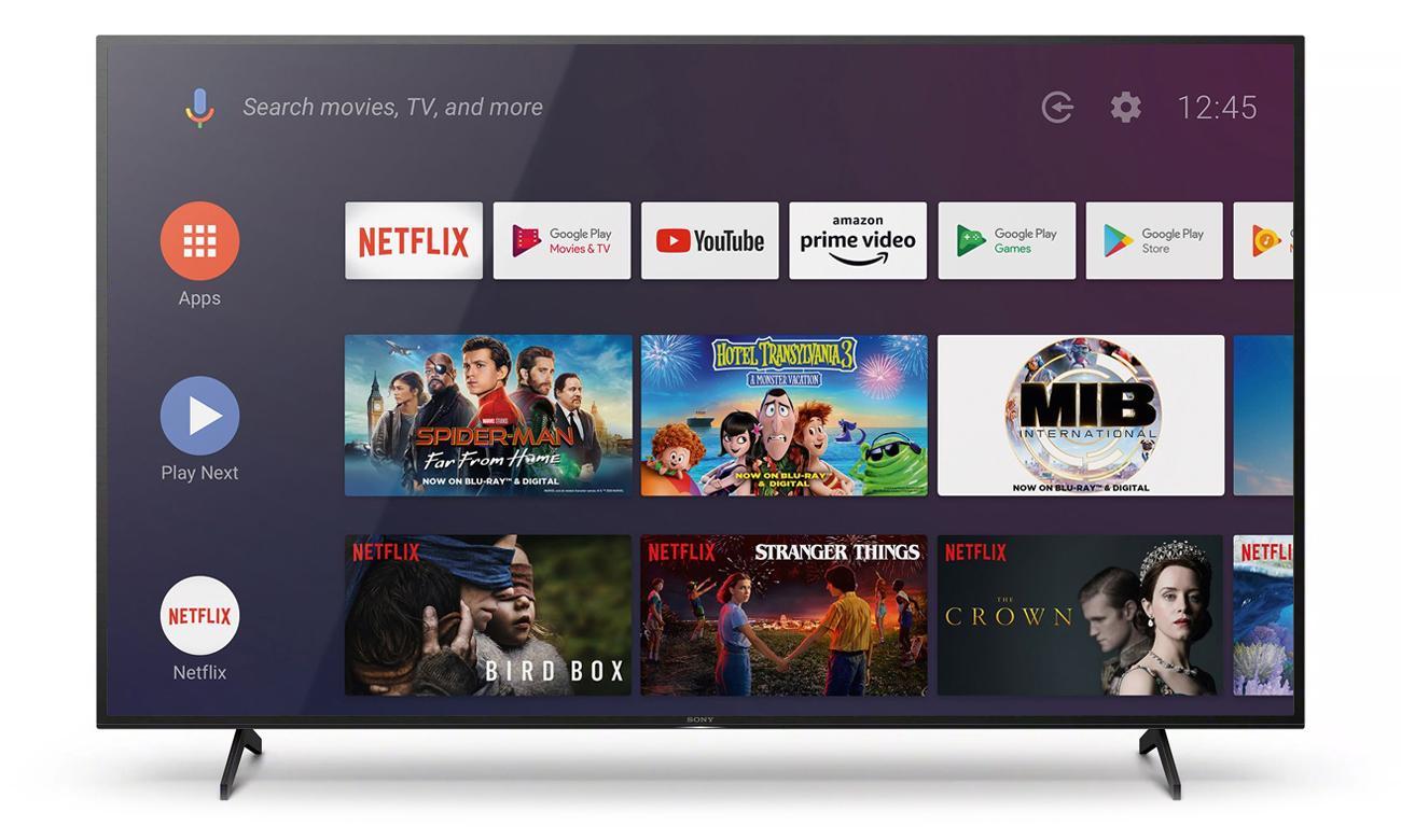 Telewizor Sony KD-65XH8096 z Android TV