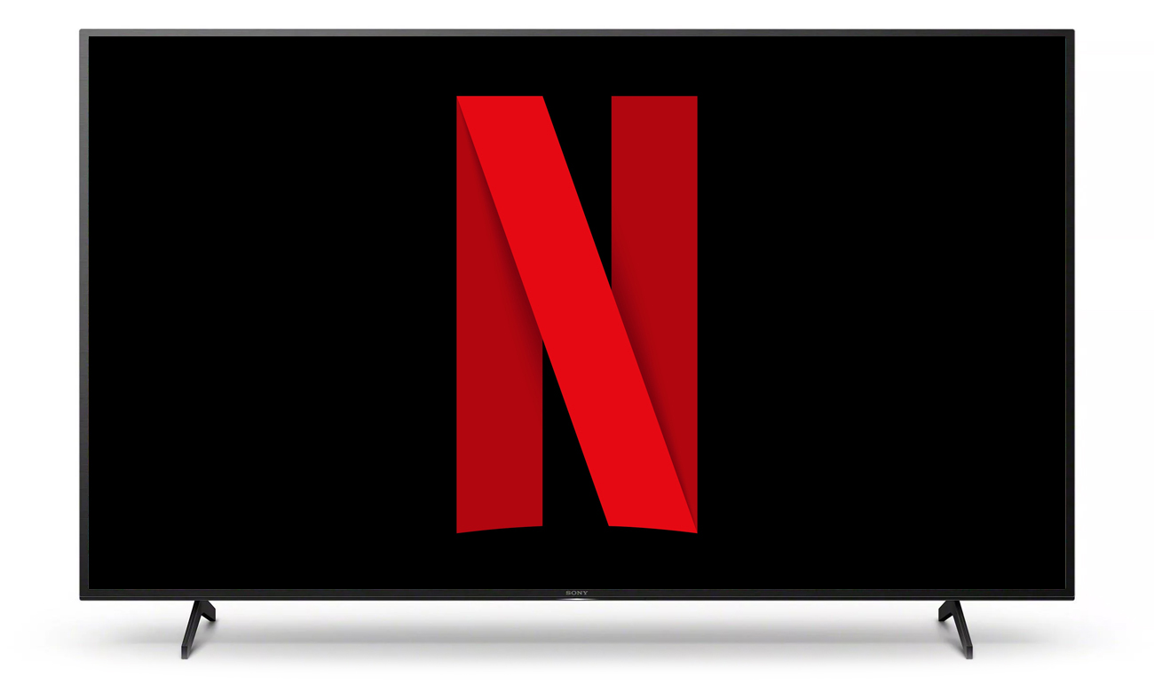 Netflix i Chromecast w telewizorze Sony KD-65XH8096