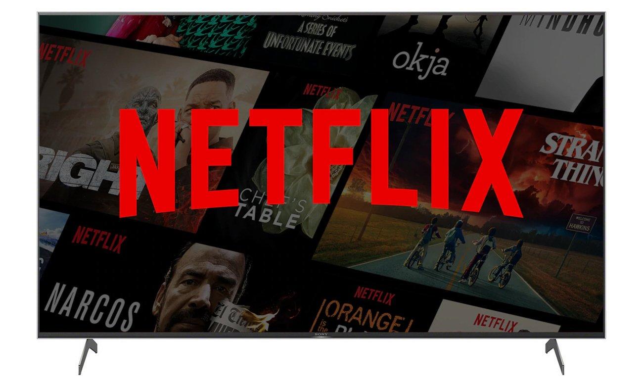 Netflix i Chromecast w telewizorze Sony KD-75XH9096