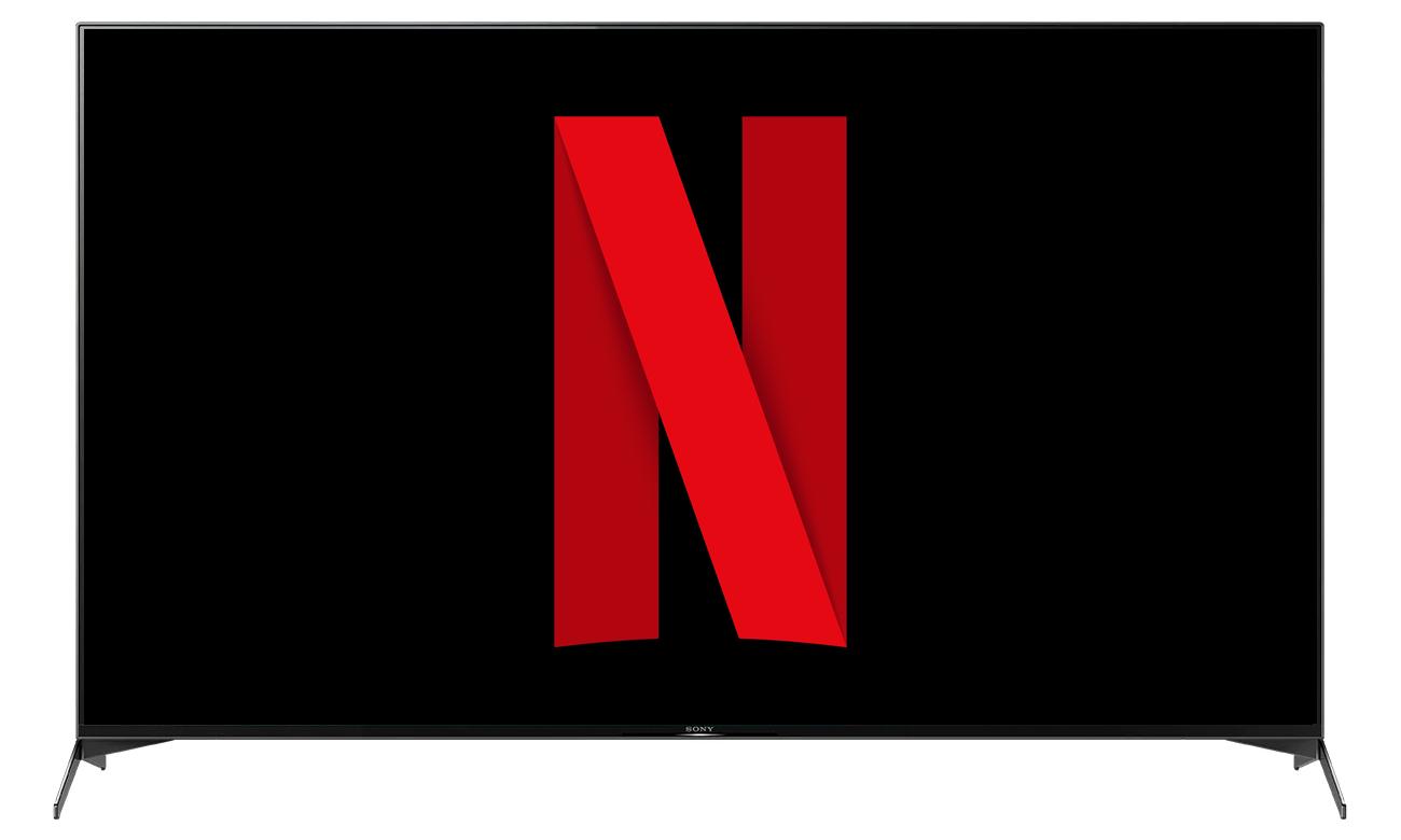 Netflix i Chromecast w telewizorze Sony KD-75XH9505