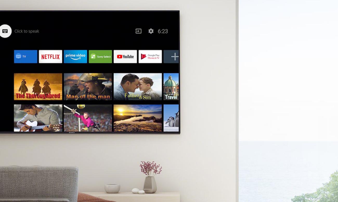 Telewizor Sony KD-85XH9096 z Android TV