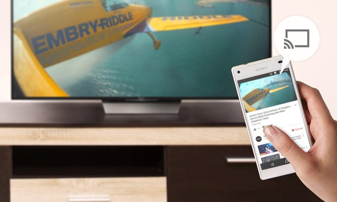 Telewizor Sony KDL-49WD755 z funkcja Wi-Fi