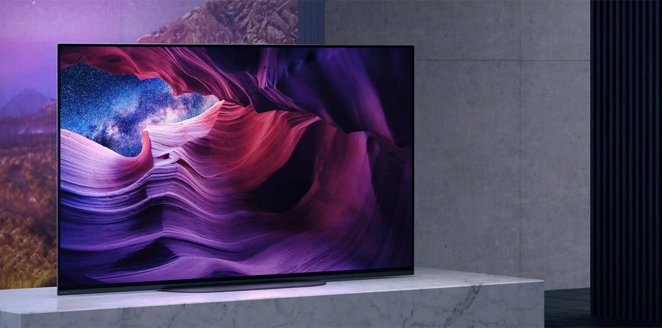 Wyraziste kolory i większy kontrast w Sony OLED KE-48A9