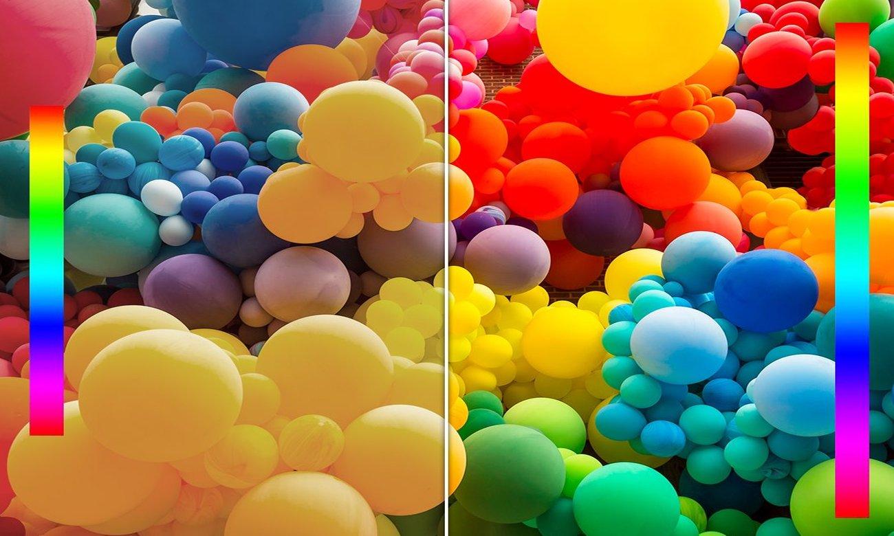 Idealne odwzorowanie kolorów na ekranie Sony OLED KE-48A9