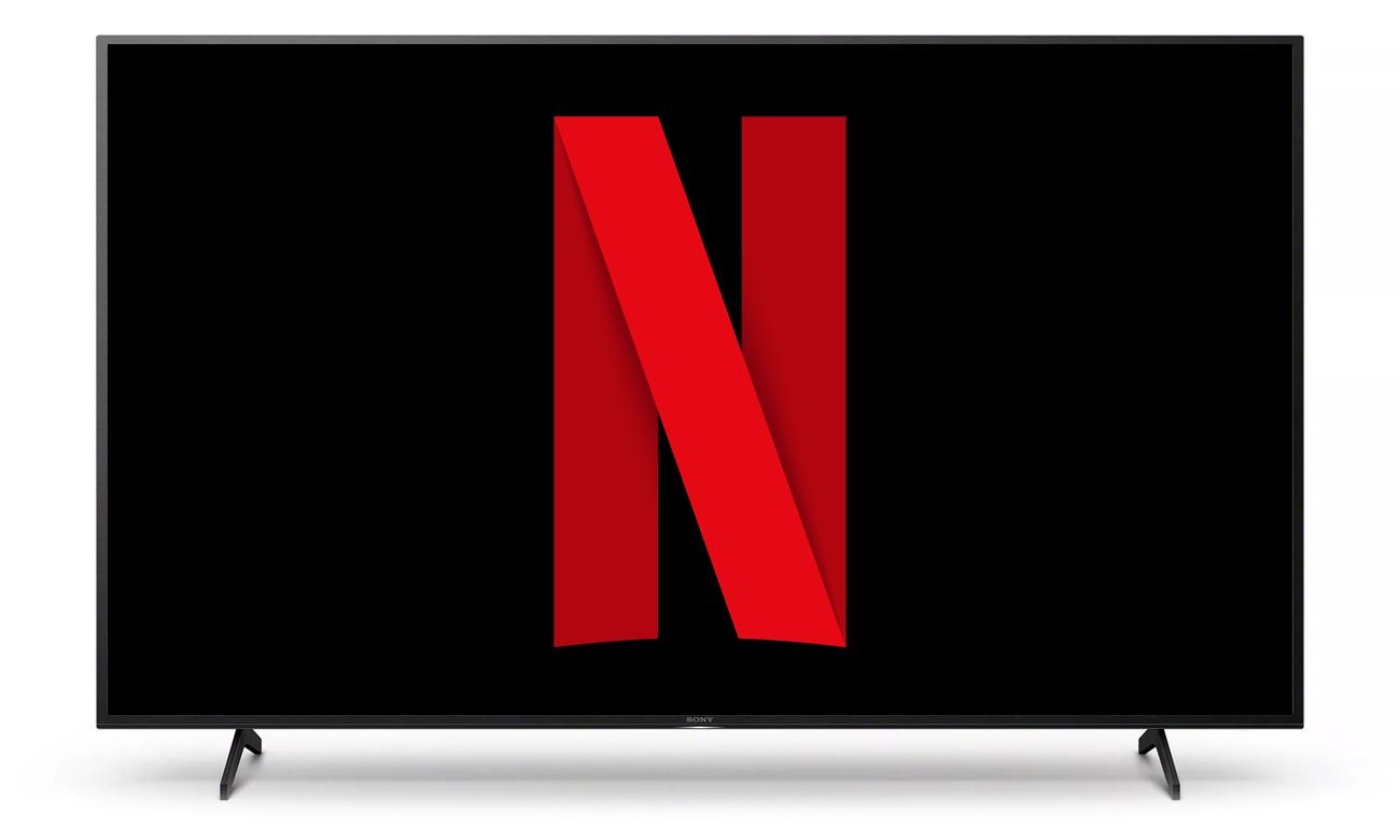 Netflix i Chromecast w telewizorze Sony KE-55XH8096