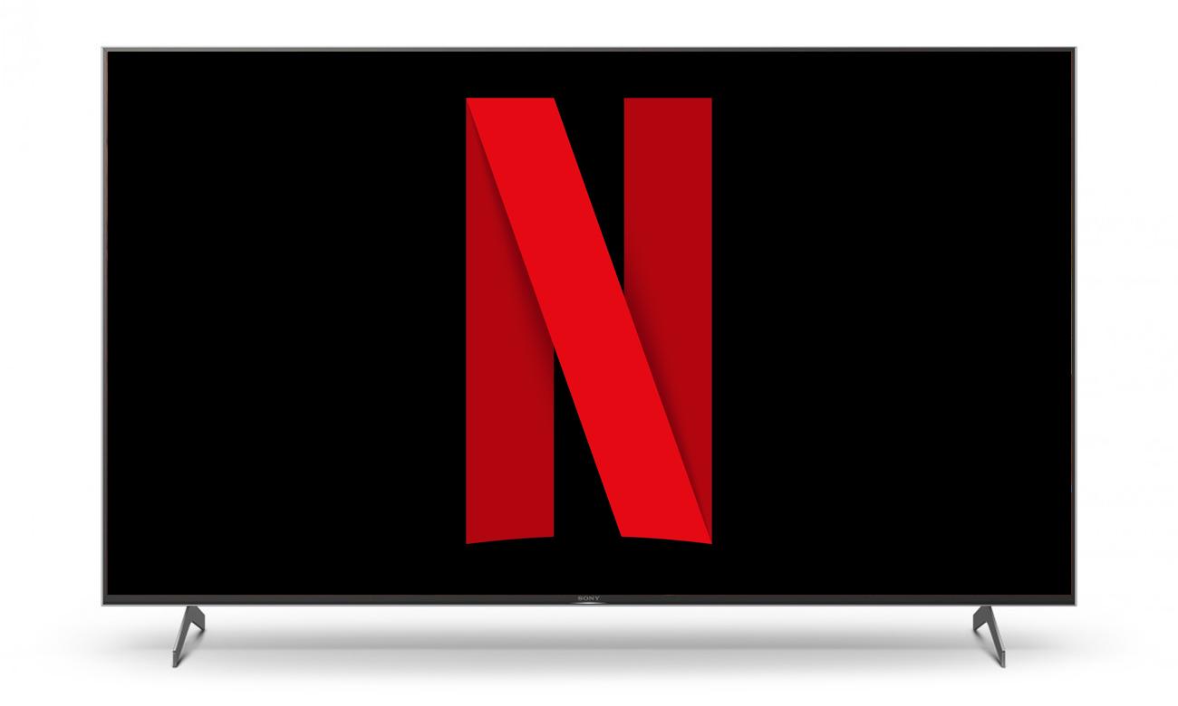 Netflix i Chromecast w telewizorze Sony KD-55XH9005