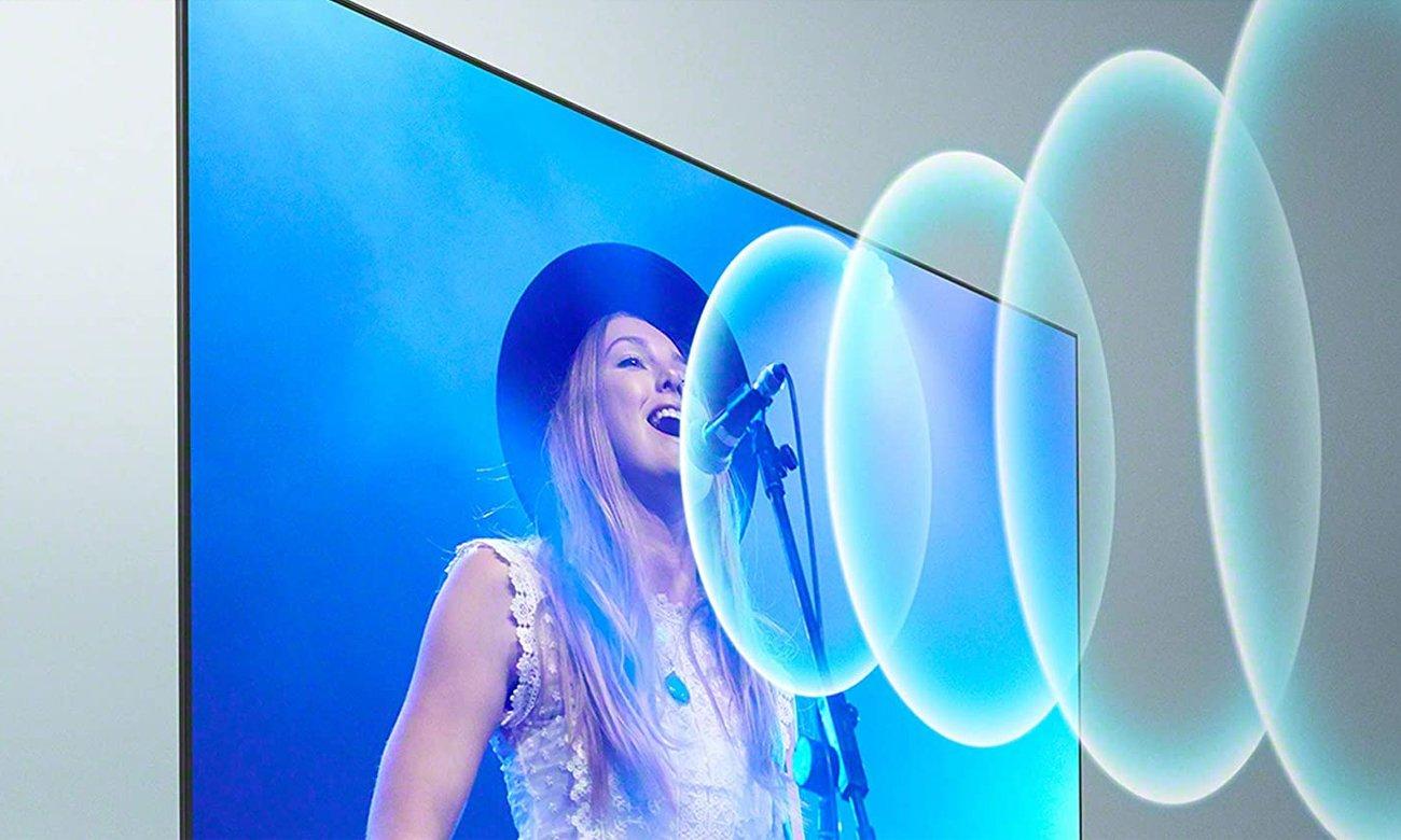 Technologia Acoustic Multi-Audio w Sony XR-55A90J