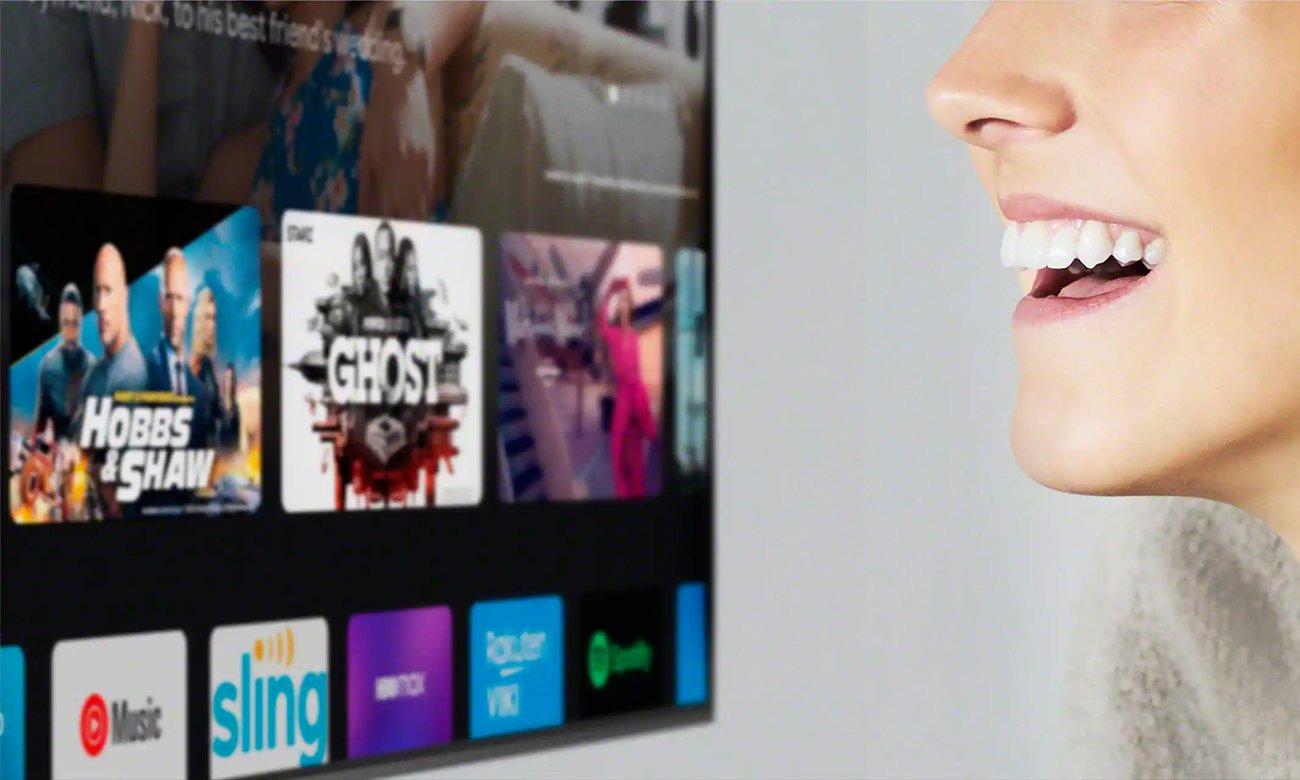 Netflix i Chromecast w telewizorze Sony XR-55A90J