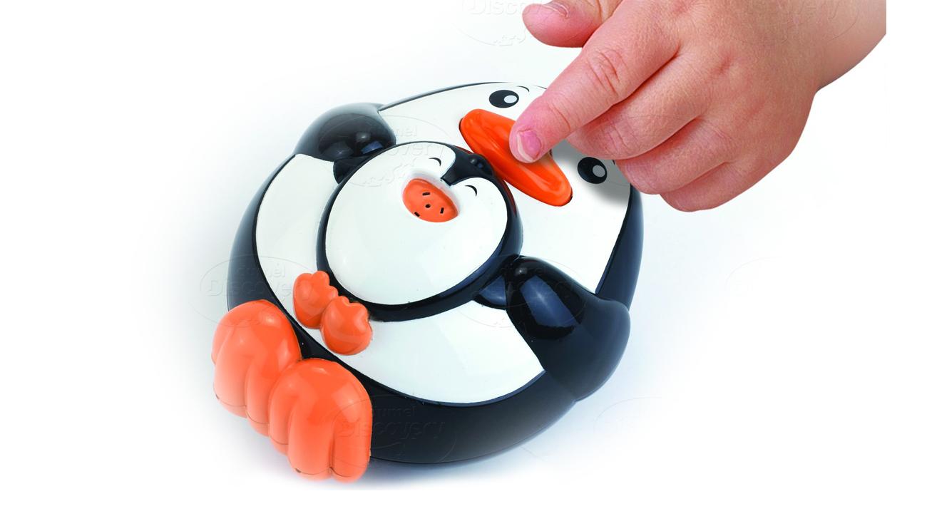 Dumel Discovery Tryskające Zwierzątka Pingwin