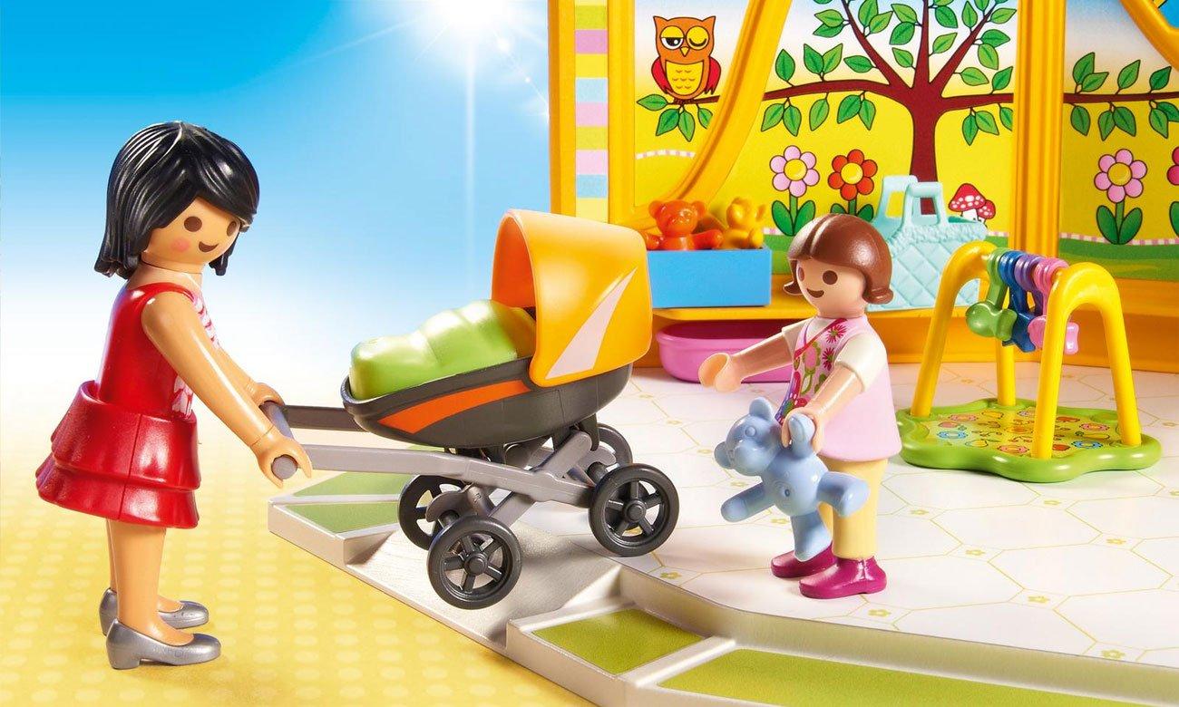 duży zestaw sklep dziecięcy playmobil