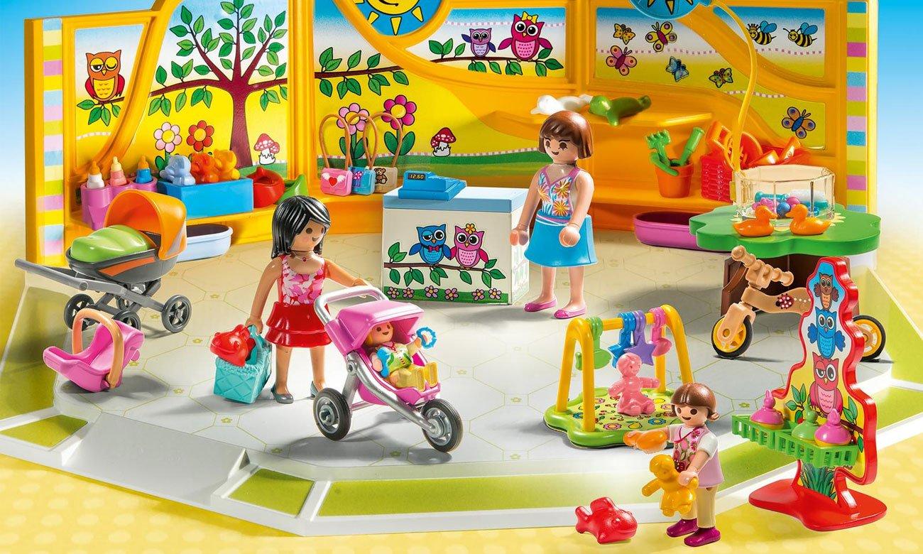 Sklep z artykułami niemowlęcymi playmobil