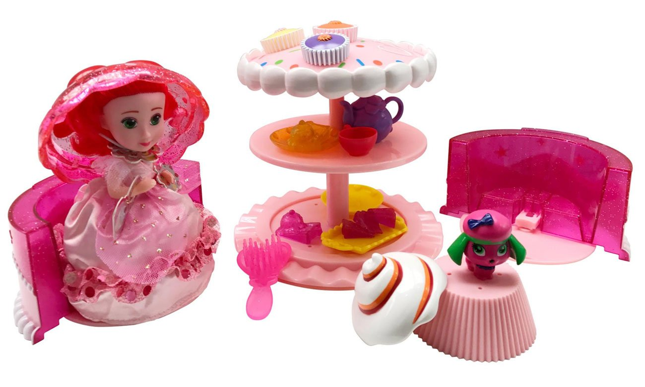 TM Toys Cupcake 2 w 1 tort piknik