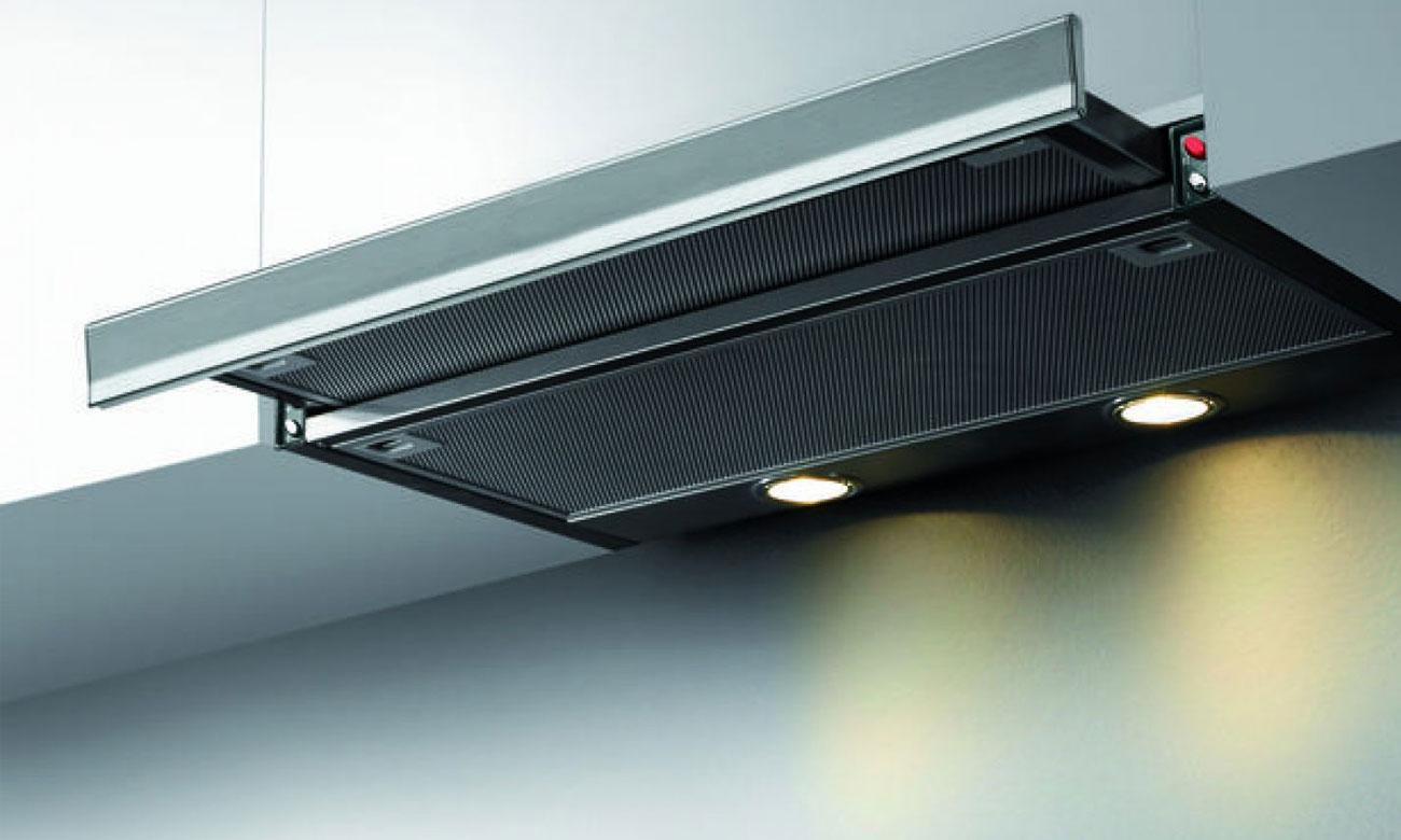 Wydajne oświetlenie LED w okapie Gorenje BHP523E10X